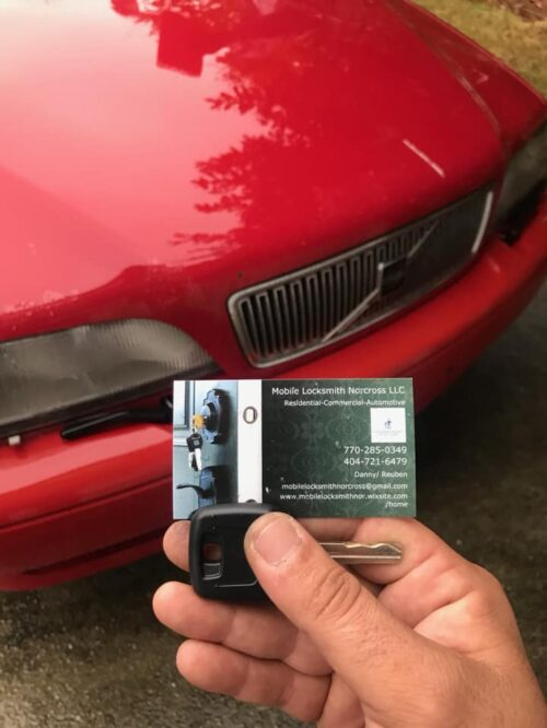 Mobile Locksmith Norcross Lockout and Rekey